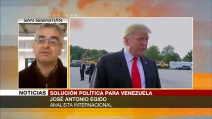 Egido: Venezuela necesita intervención de Rusia e Irán ante EEUU