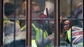 'Chalecos amarillos' británicos toman oficina del fiscal general