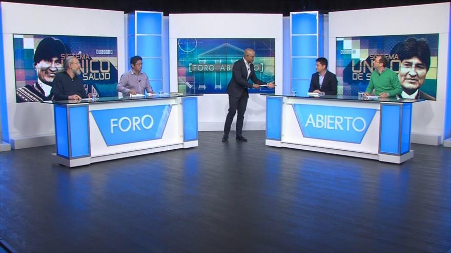 Foro Abierto; Bolivia: sanidad gratuita y universal