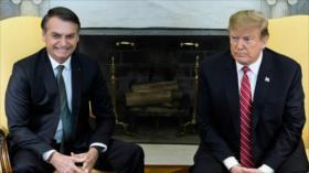 Trump considera dar a Brasil privilegios militares de la OTAN