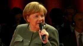Angela Merkel evita que Londres abandone la UE sin acuerdo