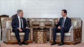 Al-Asad elogia apoyo de Rusia y repudia doble moral del Occidente