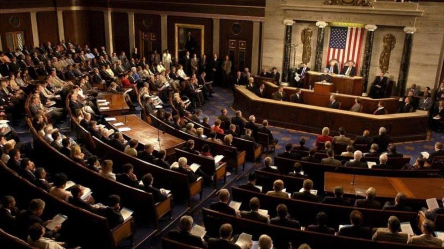 Una sesión del Congreso de Estados Unidos.