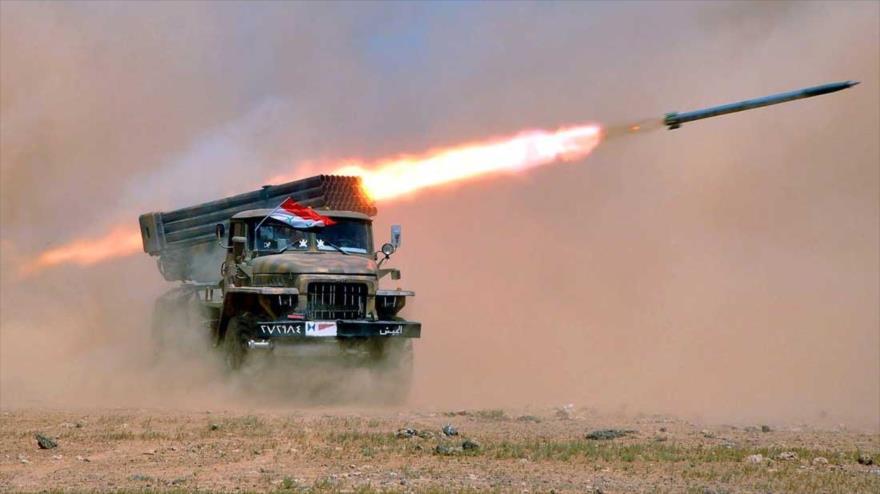Ejército sirio mata a los terroristas de Al-Nusra en Hama