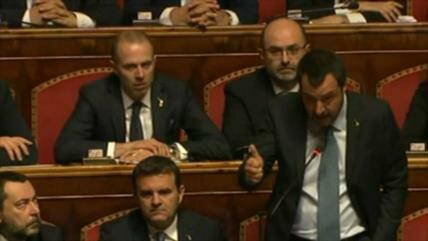 Salvini se salva: no será procesado por secuestro de migrantes