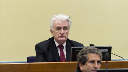 Cadena perpetua para Radovan Karadzic, el 'carnicero' de Bosnia