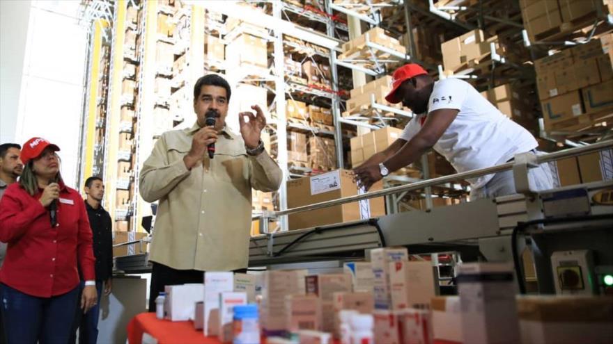 Maduro: EEUU retiene $ 5000 millones para compra de medicinas