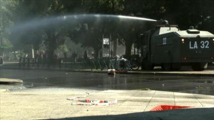 Gobierno chileno reprime manifestación de los mapuches