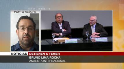 """""""La Administración de Temer está involucrada en sus crímenes"""""""