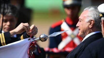 "Detenido el expresidente brasileño Temer por caso de ""Lava Jato"""