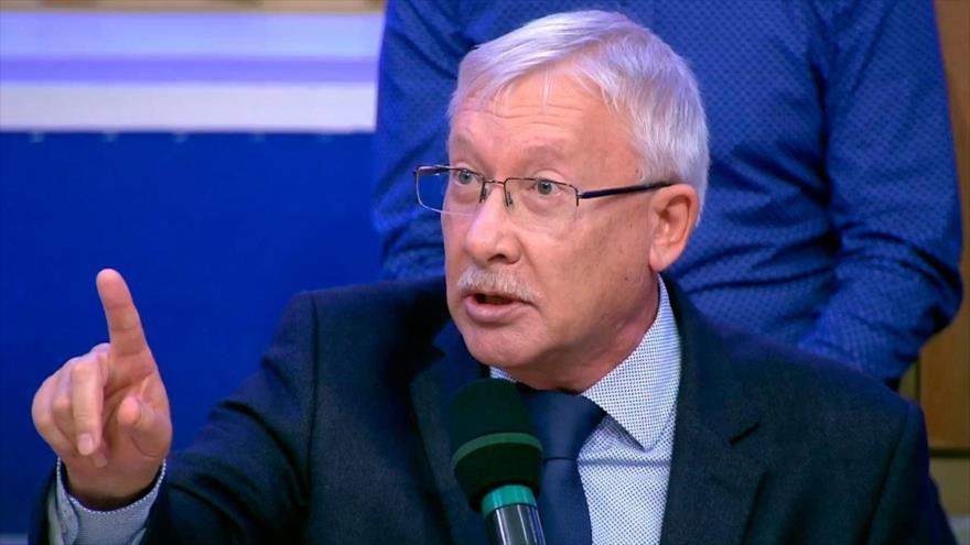 Oleg Morózov, miembro del Comité de Asuntos Internacionales del Consejo de la Federación de Rusia (Duma)