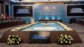 Turquía acoge sesión urgente de OCI por ataques en Nueva Zelanda