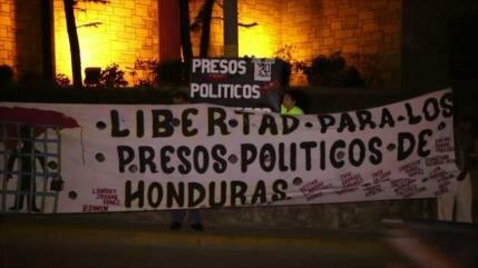 Protestan en Honduras contra injerencia de EEUU