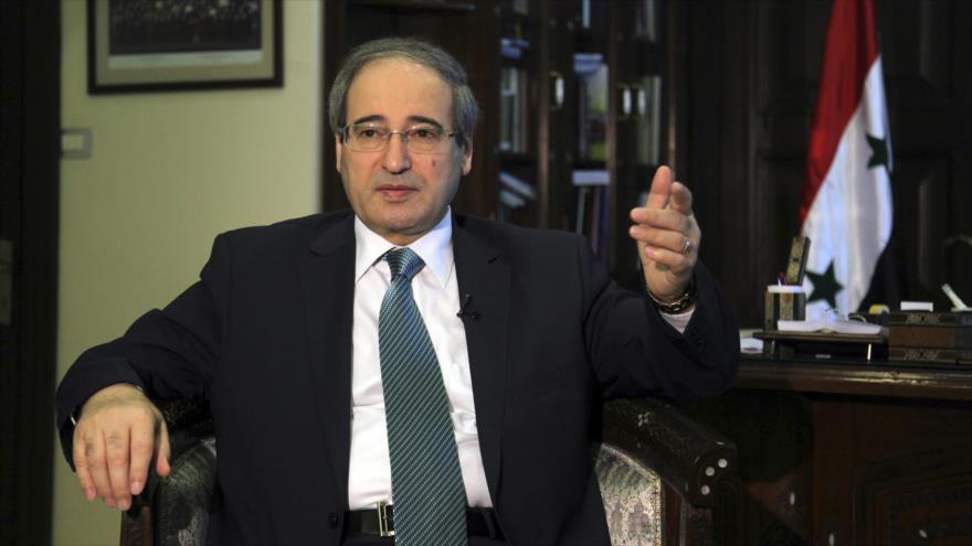 El vicecanciller sirio, Faisal al-Miqdad.