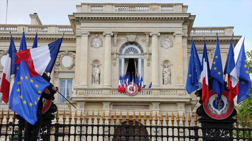 Sede de la Cancillería de Francia en París, capital francesa.