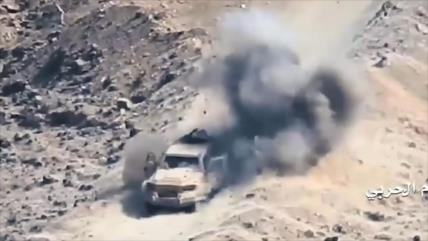 Tropas yemeníes destruyen 20 coches militares de aliados de Riad