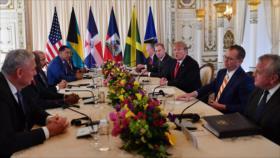 Trump promete invertir en países que respaldan al golpista Guaidó