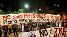 Reclaman en Uruguay por políticas que protejan el medioambiente