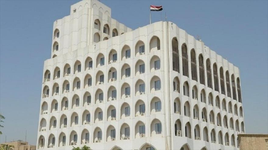 Edificio del Ministerio de Exteriores de Irak.