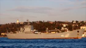 Fotos: Armada rusa transporta a Siria equipos militares pesados