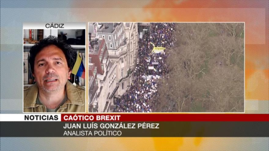 Pérez: Protestas contra Brexit pueden generar un segundo referendo