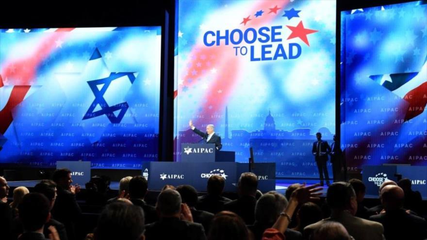 Una de las conferencias anuales del Comité de Asuntos Públicos Estados Unidos-Israel (AIPAC, por sus siglas en inglés).