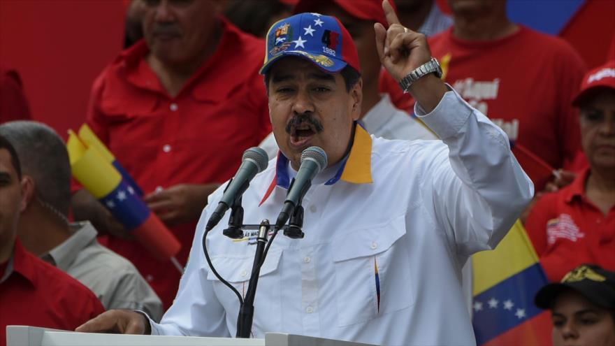 Maduro: Fondos bloqueados por EEUU financian planes 'terroristas'