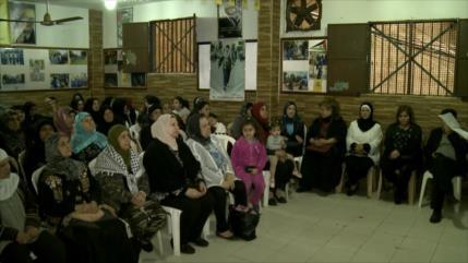 En El Líbano conmemoran el Día de la Madre palestina