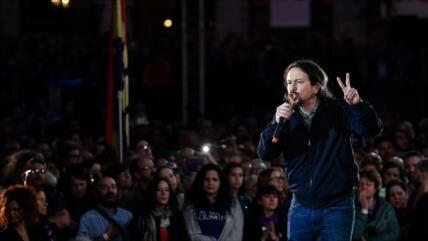 Iglesias lanza su campaña para las legislativas del 28 de abril