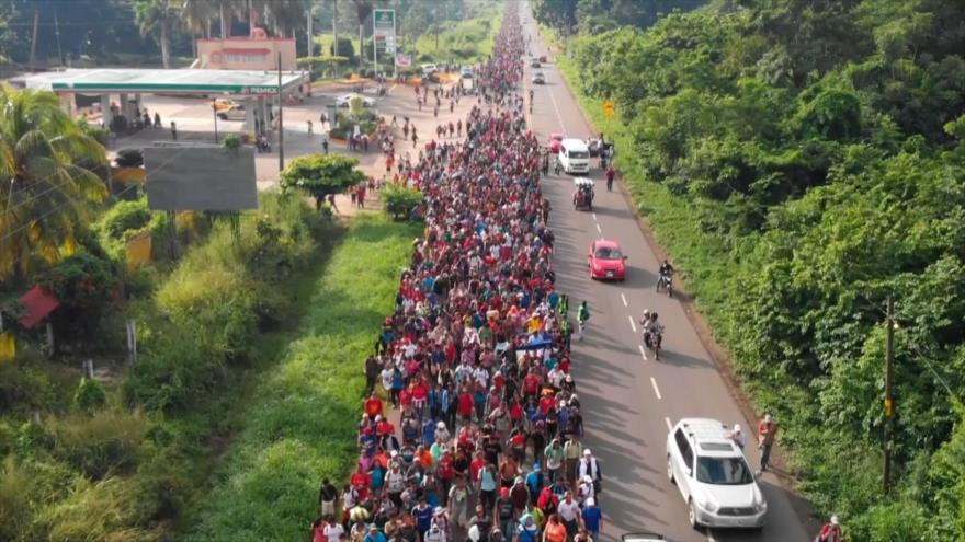 Por seguridad de los migrantes, cambian su ruta por México