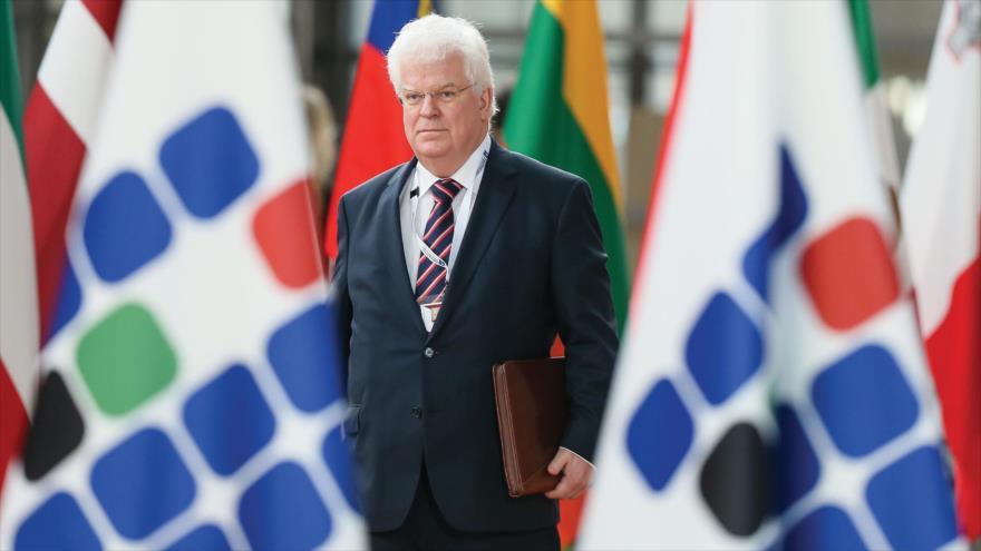 El embajador de Rusia ante la Unión Europea (UE), Vladimir Chizhov.