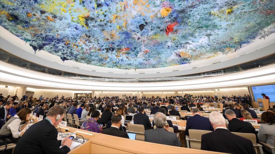 Se inaugura el 40.º período de sesiones del Consejo de Derechos Humanos de la ONU en Ginebra (Suiza), 25 de febrero de 2019. (Foto: AFP)
