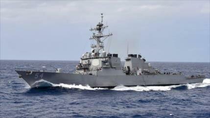 EEUU envía dos buques al estrecho de Taiwán en desafío a China
