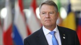 Presidente de Rumanía rechaza traslado de su embajada a Al-Quds