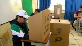 Se desarrolla el proceso electoral más grande de Ecuador