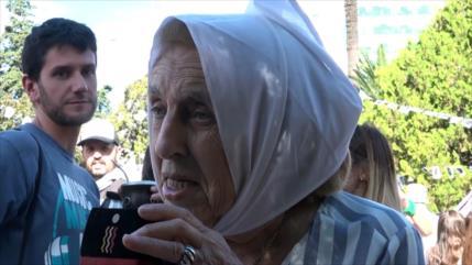 Multitudinaria marcha a 43 años del golpe de Estado en Argentina
