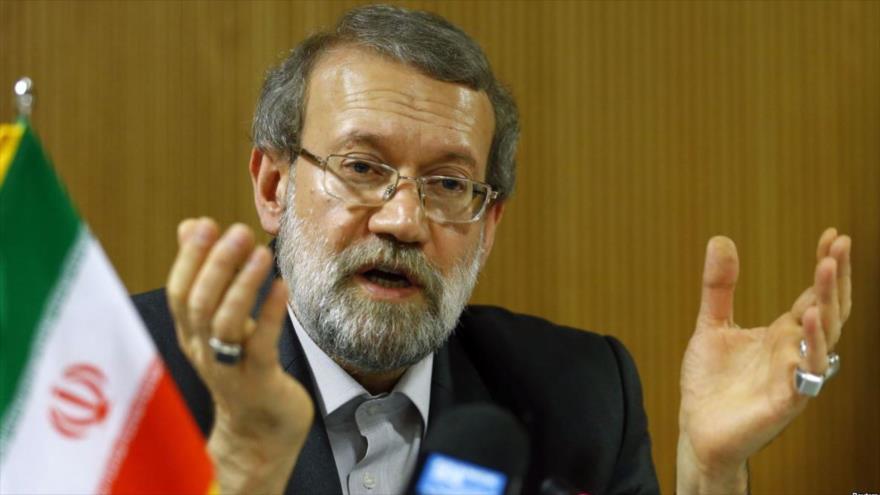 El presidente del Parlamento iraní, Ali Lariyani.