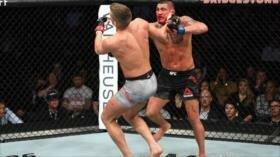 Poderoso puñetazo de Superman acaba con famoso luchador de MMA