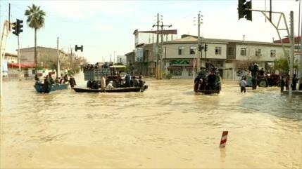 Continúan operaciones de ayuda tras inundaciones en norte de Irán