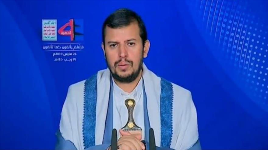Líder de Ansarolá condena apoyo de Israel y EEUU a agresión saudí