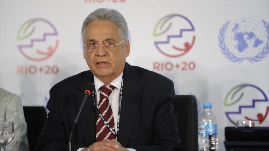 El expresidente brasileño Fernando Henrique Cardoso (1995-2002)