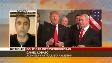 Lobato: Israel es quien gobierna y dirige en la Casa Blanca
