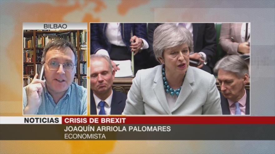 Palomares: El fracaso de May sobre el Brexit es clamoroso