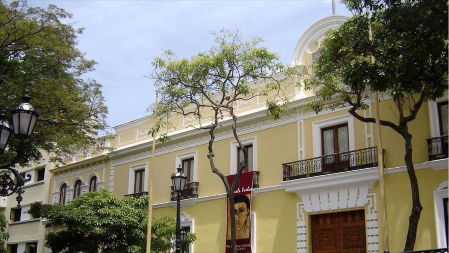 Sede de la Cancillería de Venezuela, en la capital Caracas.