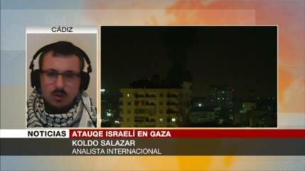 Salazar: elecciones israelíes, una de las causas para atacar Gaza