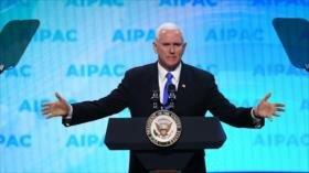 Pence arremete contra demócratas por boicotear a Israel y al AIPAC