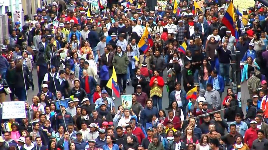 Correa entre las principales fuerzas políticas de Ecuador