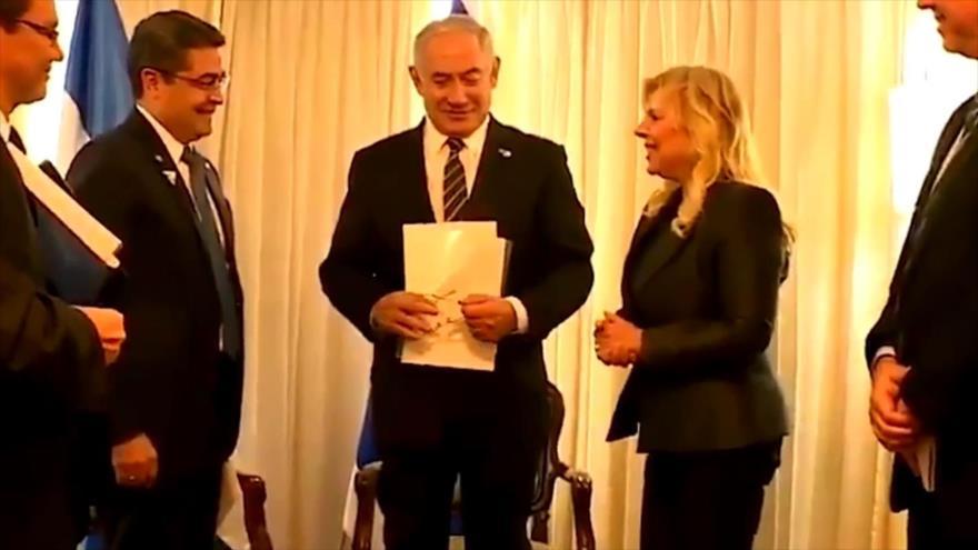 Gobierno de Honduras atenta contra el pueblo palestino
