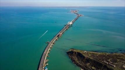 Rusia crea una brigada marítima para proteger el puente de Crimea