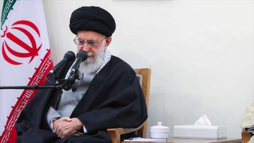 El Líder de la Revolución Islámica de Irán, el ayatolá Seyed Ali Jamenei, Teherán, 14 de marzo de 2019. (Foto: Irna)